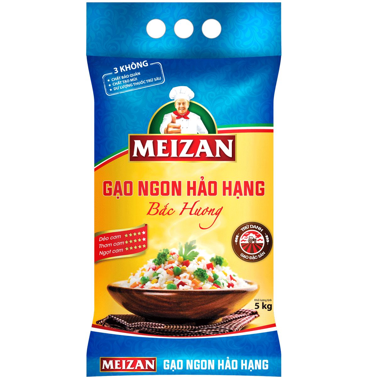 Gạo Ngon Hảo Hạng MEIZAN Bắc Hương