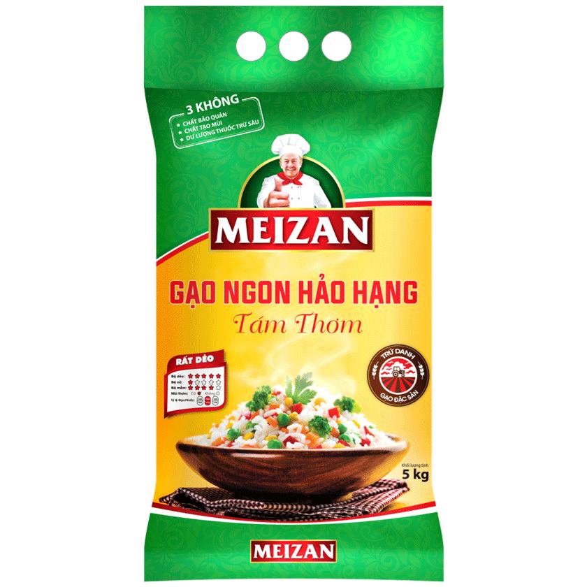 Gạo Ngon Hảo Hạng MEIZAN Tám Thơm