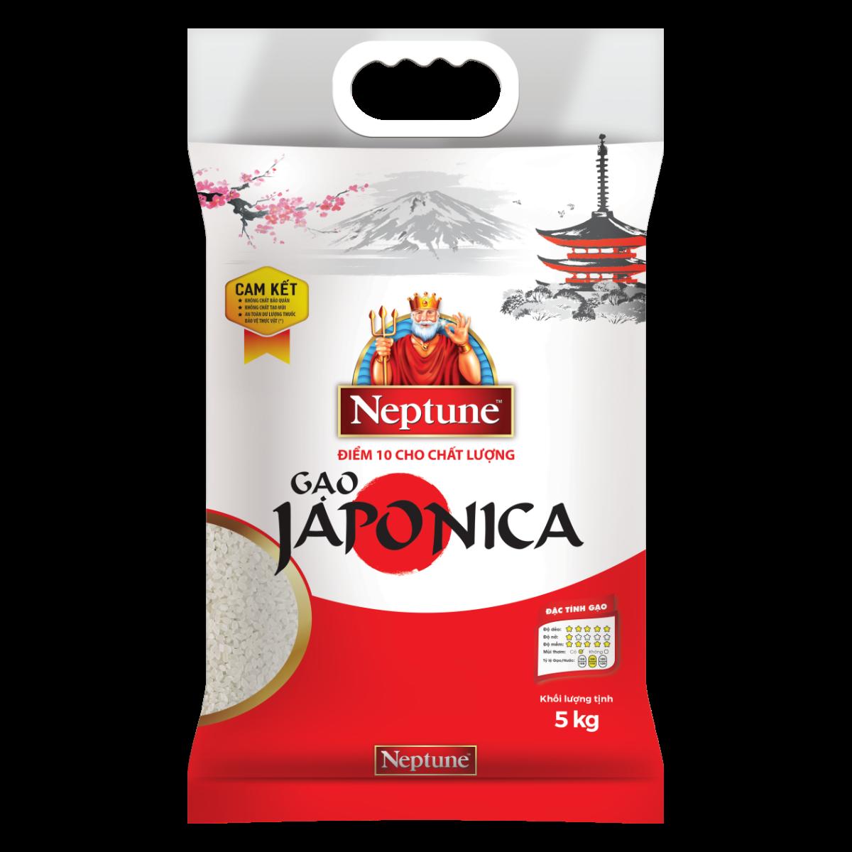 Gạo Japonica Neptune